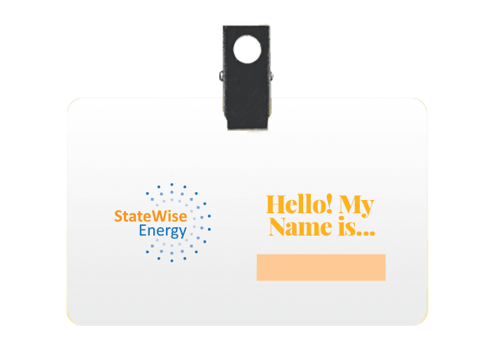 StateWise Name Badge